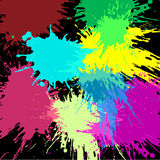 Colorful paint Backgroud icon great for any use. Vector EPS10. Royalty Free Stock Photo