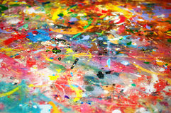 Colorful paint background Royalty Free Stock Photos