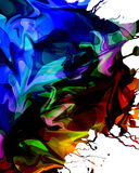 Colorful paint background Royalty Free Stock Photo