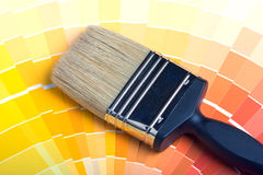 Colorful Paint Color Swatches Royalty Free Stock Photos