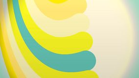 Colorful paint curves spinning with a spectrum of vibrant colors, seamless loop.  royalty free illustration
