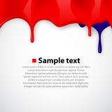 Colorful paint dripping background. Royalty Free Stock Photos