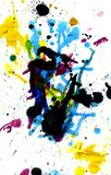 Colorful Paint Drips Royalty Free Stock Photos