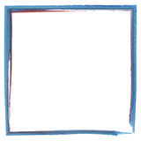 Colorful paint effect frame Stock Photo