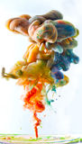 Colorful paint Stock Image