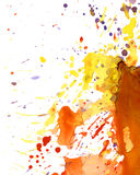 Colorful paint splash Royalty Free Stock Photography