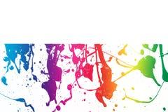 Colorful paint texture Stock Photos