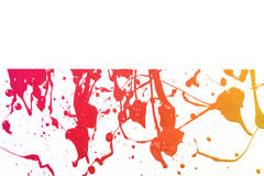 Colorful paint texture Stock Images