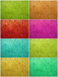 Colorful paint washed plaster background Royalty Free Stock Photography