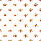 Colorful paintball blob pattern, cartoon style Royalty Free Stock Photography