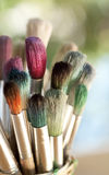 Colorful Paintbrushes Stock Photo