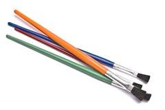 Colorful paintbrushes Stock Photography