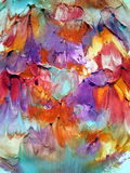 Colorful painted abstract Royalty Free Stock Images