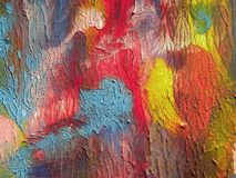 Colorful painted abstract Stock Photo