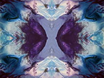 Colorful painted abstract Stock Photography