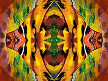 Colorful painted abstract Royalty Free Stock Photos