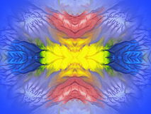 Colorful painted abstract Royalty Free Stock Photography
