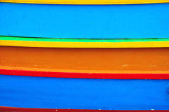 Colorful painted background. Traditional multicolor maltese boat Royalty Free Stock Image