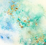 Colorful painted canvas baclground. Colorful painted canvas background and texture Royalty Free Stock Photo