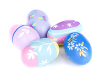 Colorful Painted Easter Eggs Royalty Free Stock Image