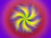 Colorful painted mandala Royalty Free Stock Photography