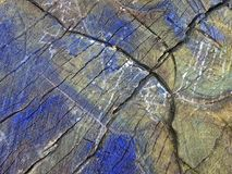 Painted old wooden surface texture Royalty Free Stock Image