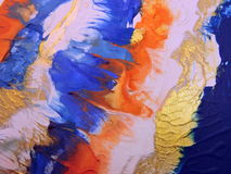 Colorful painted surface abstract Royalty Free Stock Images