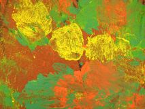 Colorful painted paper surface texture royalty free stock image