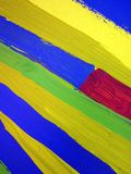 Colorful painted wall surface Royalty Free Stock Photos