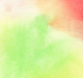 Colorful painted watercolor background Stock Photos