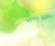 Colorful painted watercolor background Royalty Free Stock Image