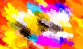 Colorful painting abstract texture background Royalty Free Stock Photo