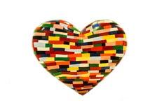 Colorful heart Stock Photos