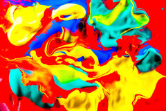 Colorful painting Stock Photography