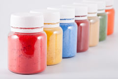 Colorful Paints Stock Photos