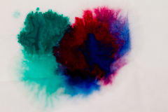 Colorful paints Stock Photography