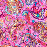 Colorful Paisley pattern Stock Photography