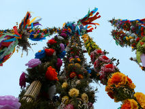Colorful palms - Polish Easter tradition Royalty Free Stock Images