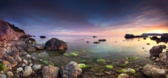 Colorful panorama Stock Photo