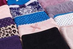 Colorful panties Royalty Free Stock Image