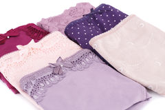 Colorful panties Royalty Free Stock Photo