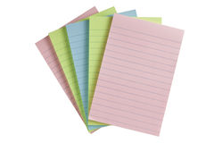 Colorful pap paper Royalty Free Stock Photo