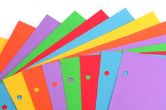 Colorful paper Stock Photos