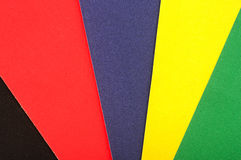 Colorful paper Royalty Free Stock Photo