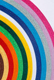 Colorful paper Stock Image