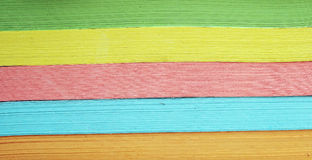 Colorful paper. A background of colorful paper shreds Stock Photo