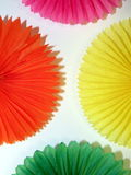 Colorful paper abstract Royalty Free Stock Photography