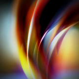 Colorful paper abstract. Colorful slieces of paper shoted like an abstract background Stock Image