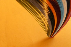 Colorful paper backgound Royalty Free Stock Photography
