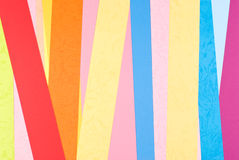 Colorful paper background Stock Photos